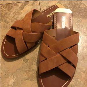 New Kensie Slip on Sandals 6